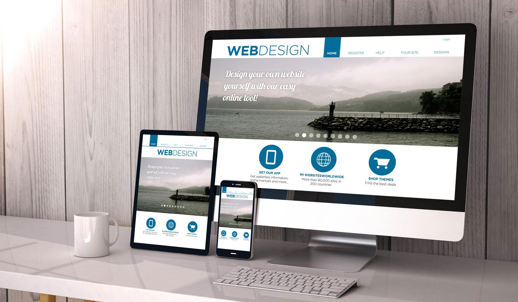 Professionelle Webseitengesteltung